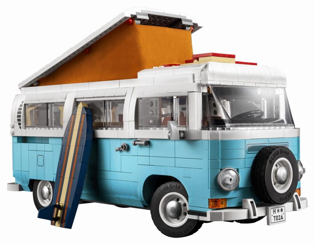 Bricks in Bits LEGO review set Volkswagen Camper T2 10279 surf lifestyle T1 Creator Expert BiB 10220 lanzamiento noticias news